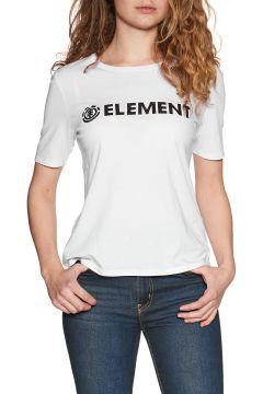 T-Shirt à Manche Courte Femme Element Logo CR - White(111324030)