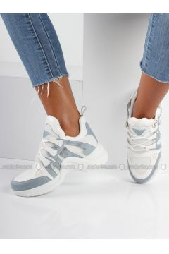 Baby Blue - Sport - Sports Shoes - İnan Ayakkabı(110316459)