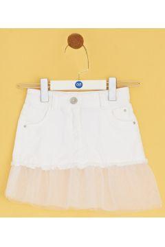 BG Baby Beyaz Kız Bebek Etek(114005850)