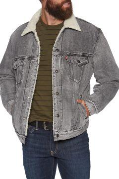 Levi\'s Virgil Sherpa Trucker Jacke - Grey(100273717)