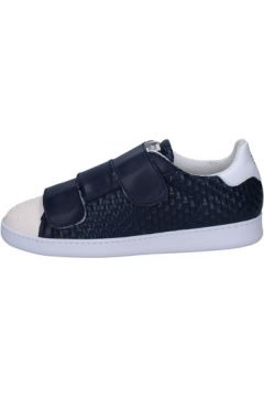 Chaussures Brimarts sneakers bleu cuir BT590(115442846)