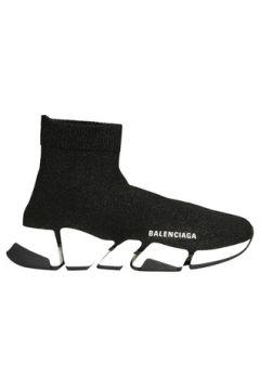 Balenciaga Kadın Speed 2 Siyah Sim Dokulu Sneaker 36 EU(126702681)
