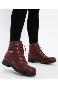 Maroon - Boot - Boots - Shamdan(110334581)