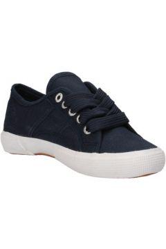 Baskets enfant Everlast sneakers bleu toile AF825(115393413)