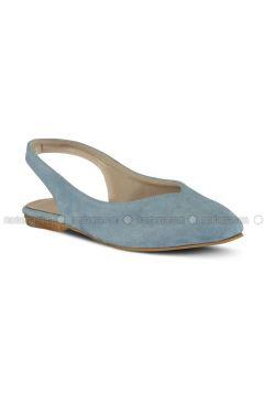 Blue - Flat - Flat Shoes - Marjin(110337931)