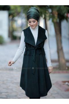 Emerald - Fully Lined - Shawl Collar - Vest - DressLife(110332055)