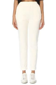 Academia Kadın Beyaz Beli Lastikli Jarse Pantolon S(109109685)