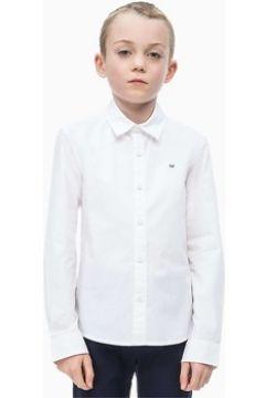Chemise enfant Calvin Klein Jeans IB0IB00057 STRETCH POPLIN(101645763)