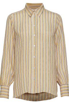 Go Shirt Bluse Langärmlig Gelb SECOND FEMALE(114152735)