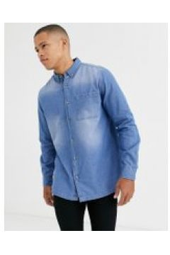 Burton Menswear - Jeanshemd - Blau(94962992)