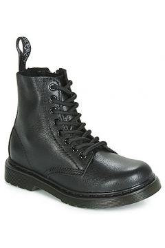 Boots enfant Dr Martens 1460 PASCAL MONO J(115561817)