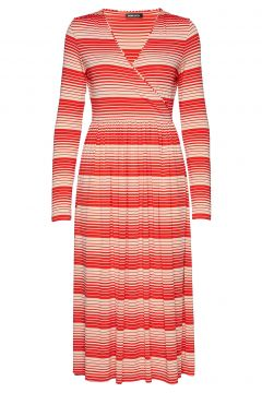 Alina, 623 Light Jersey Kleid Knielang Rot STINE GOYA(114163300)