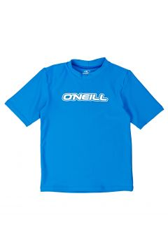 O\'Neill Toddler Basic Skins Short Sleeve Jungen Rash Vest - Brite Blue(100258308)