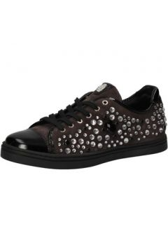 Chaussures Botticelli BOTTICELLI sneakers daim cuir verni strass AE306(88516200)