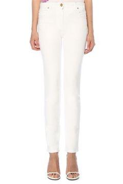 Versace Kadın Beyaz Logo Baskılı Jean Pantolon 26 US(118330315)