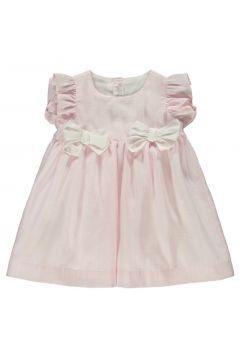 Gestreiftes Kleid aus Leinen(113867700)
