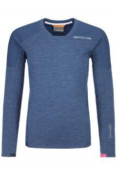 Ortovox Merinoterry Fleece Pullover blauw(123263017)