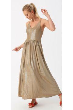 Only Askılı Vizon Elbise(113979037)
