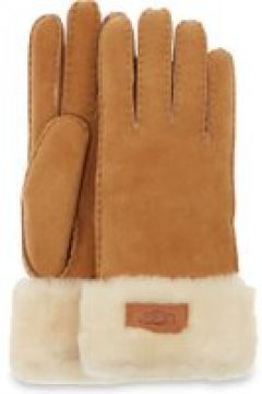 UGG Turn Cuff Gants pour Femmes en Chestnut, taille Grande | Shearling(112238864)