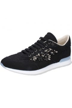 Chaussures Twin Set TWIN-SET sneakers noir textile AB889(115393878)