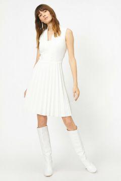 Koton Kadın Kolsuz Elbise(107376208)