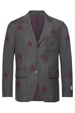 Hcm Suit Sep Blazer Embroidery Blazer Jackett Grau HILFIGER COLLECTION(114153014)
