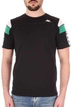 T-shirt Kappa 222 BANDA ARAR SLIM NERA(115513228)