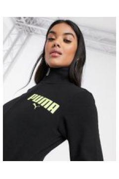 Puma - Giacca sportiva con zip nera-Nero(120386522)