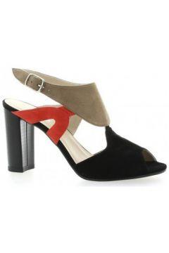 Sandales Brenda Zaro Nu pieds cuir velours /(127908627)