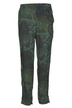 Trousers Hose Mit Geraden Beinen Grün DIANA ORVING(114151069)