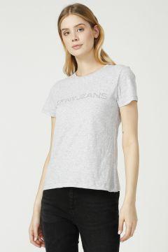 DKNY Jeans Logolu Kısa Kollu T-Shirt(125171539)