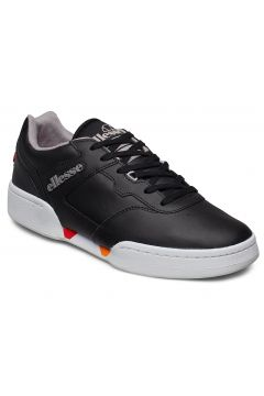 El Piacentino 2.0 Lthr Am Blk/Gry Niedrige Sneaker Schwarz ELLESSE(114160945)