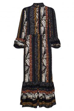 Pzfleur Dress Maxikleid Partykleid Bunt/gemustert PULZ JEANS(114163464)