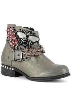 Boots Curiosite Low boots en cuir avec écussons(115470525)