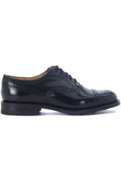 Chaussures Church\'s Chaussure lacée Scalford en peau brossée noire(115486994)