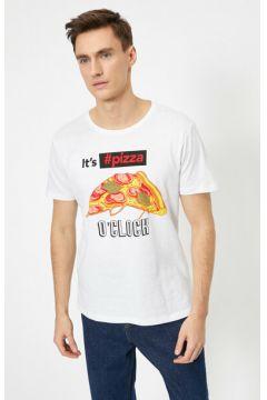 Koton Erkek Yazili Baskili T-Shirt(125174531)