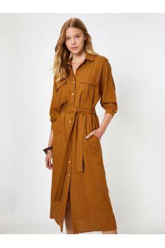 Koton Kadın Dügme Detayli Elbise(118027010)