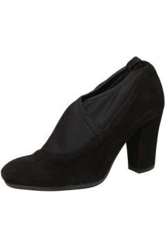 Chaussures escarpins Keys escarpins noir daim AJ141(115399685)