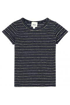 Gestreiftes T-Shirt aus Leinen Lurex Trésor(113872388)