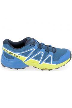 Chaussures enfant Salomon Speedcross Jr Bleu(115503197)