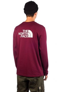 THE NORTH FACE Easy Long Sleeve T-Shirt rood(99064933)