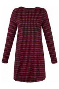 Jerseykleid Jersey-Kleid Emilia Lay rot/pink(115851424)