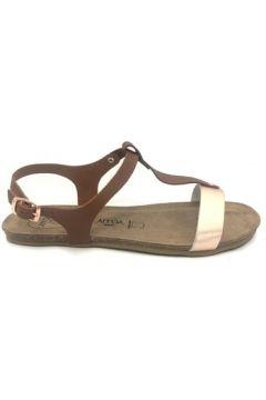 Sandales Amoa sandales SANARY Marron/Rose(115522533)