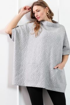 Poncho HERRY Gris(109327611)