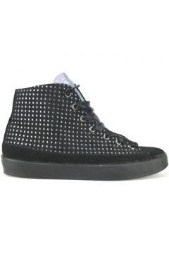 Chaussures Beverly Hills Polo Club POLO sneakers noir daim AJ16(115399677)