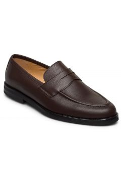 Morris Penny Loafers Loafers Flache Schuhe Braun MORRIS(116920319)