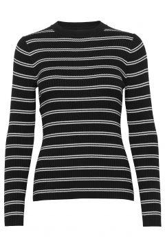Stripe Rib Sweater Strickpullover Schwarz CALVIN KLEIN JEANS(116951123)