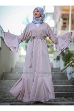 Powder - Unlined - Abaya - AGONYA MODA(110314308)