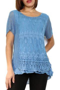 Blouses Cendriyon Tops Bleu Vêtements Femme(115425144)