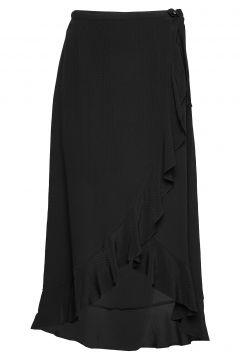 Limon L Wrap Skirt 10458 Knielanges Kleid Schwarz SAMSØE & SAMSØE(109242945)